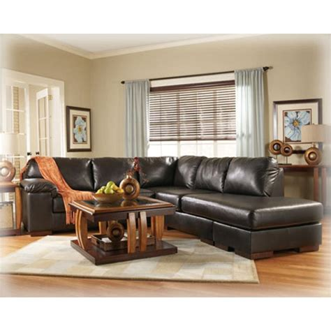 san marco sectional 6080066 ashley furniture san marco chocolate laf sofa