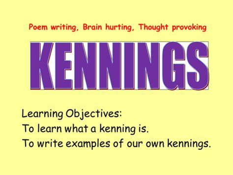 powerpoint tutorial ks2 kennings plan and powerpoint outstanding lesson by