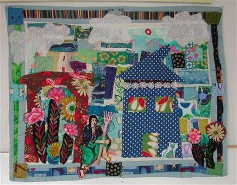 matisse coverlets matisse garden fabric art quilt textile assemblage