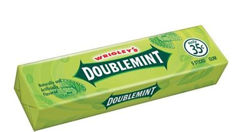 chewing gum brands wrigleys doublemint