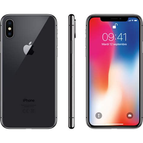 apple iphone x 64 go gris sideral powerbank coque verre tremp 233 top achat