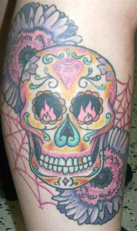 skull tattoo designs for girls skeleton design