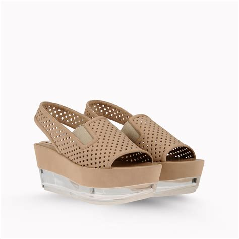 Stella Mccartney Sea Grass Wedges by Lyst Stella Mccartney Wedges In Brown