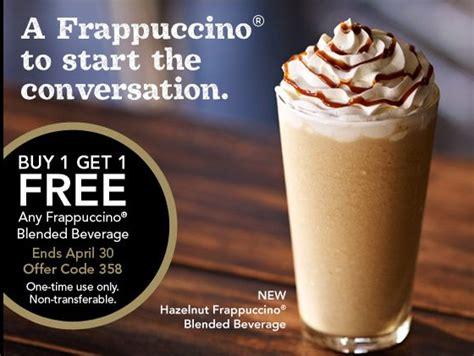 Starbucks Coffee Coupons Printable