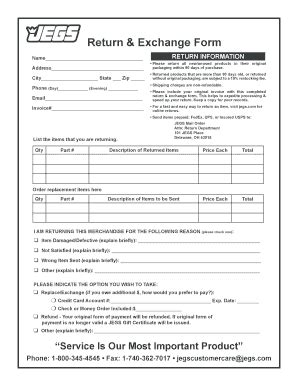 Return Exchange Form Template Free Brochure Template Downloads Forms Fillable Printable Sles For Pdf Word Pdffiller