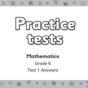 Smart Kids Practice Tests Mathematics Grade 6 Answers