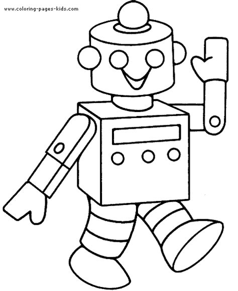 Coloring Page Robot robots coloring pages for boys