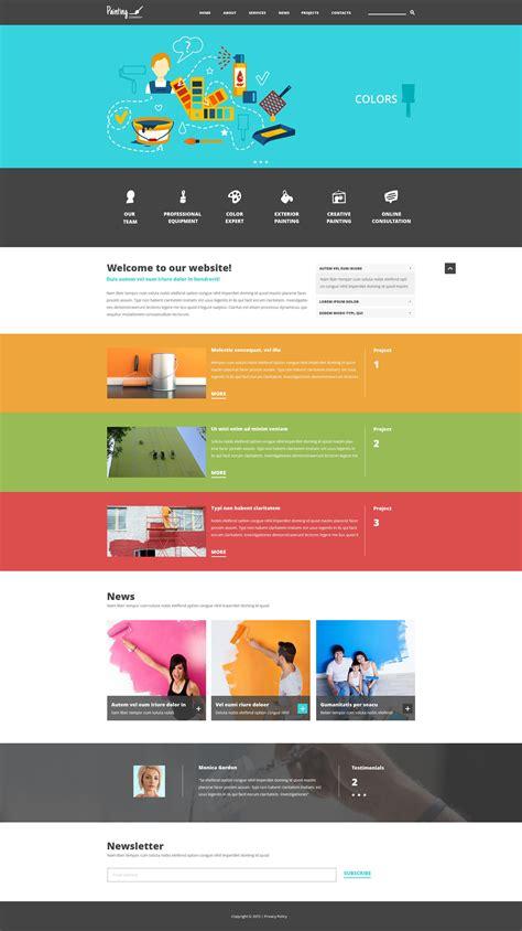 Joomla Design Vorlage joomla vorlage 52913 f 252 r malerbetrieb