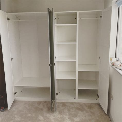 Wardrobes Flat Pack by Pax Wardrobe Assembled For A Client In Brighton