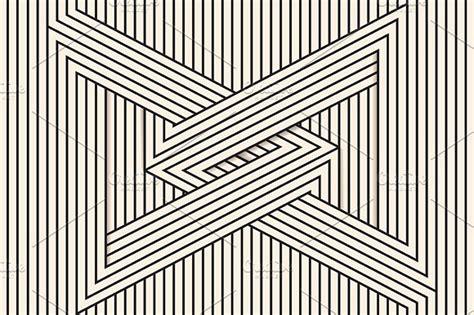 Line Arts visual illusion line illustrations creative market