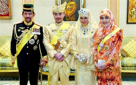 sultan hassanal bolkiah wives sultans of bling gem encrusted wedding for brunei prince