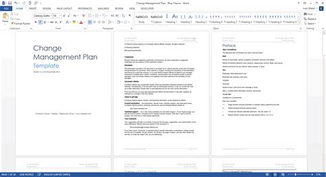 Change Management Plan Template Technical Writing Tips It Management Plan Template
