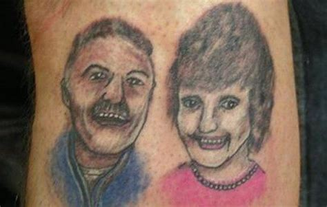 family tattoo gone wrong the worst country tattoos on the web