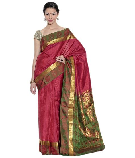 Pothys Silk Sarees | pothys red silk saree buy pothys red silk saree online