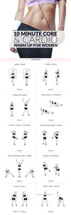 10 minute cardio warm up