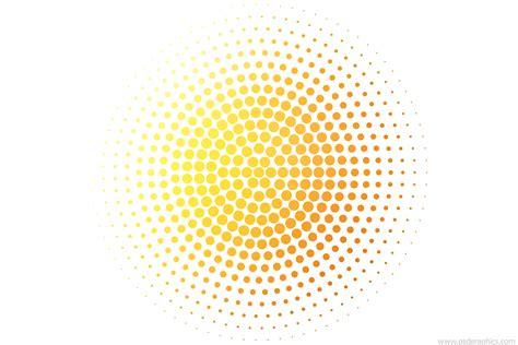dotted circles decoration vector ai psdgraphics