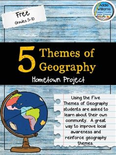 themes of geography packet free 2nd grade measurement and data activities aligned