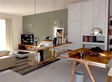 soggiorni studio ricavare in soggiorno una zona studio e tanto spazio per