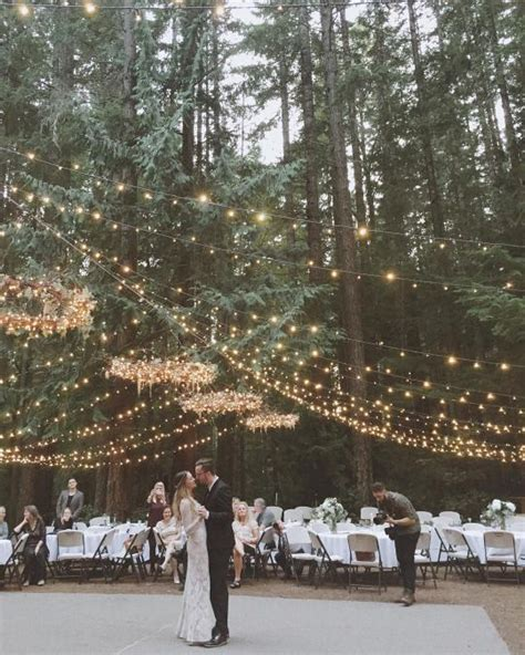 Backyard Wedding No Floor 5 Alternativas Para Ilumina 231 227 O Do Casamento Noivas De