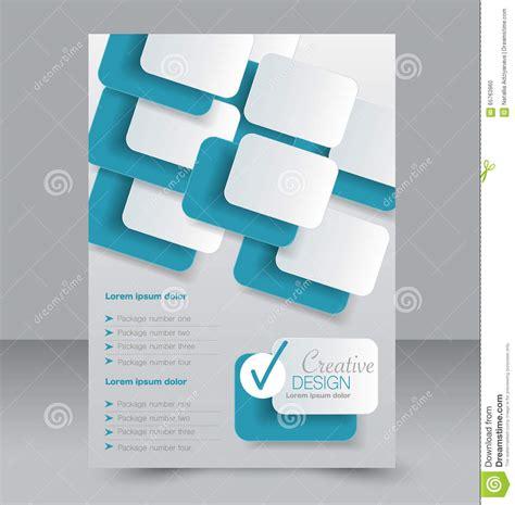 flyer design editable brochure design flyer template editable a4 poster stock