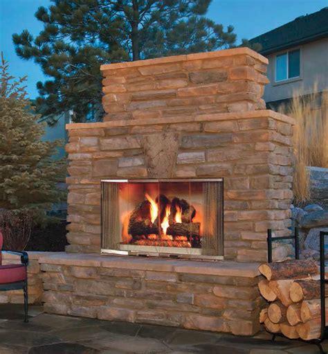 outdoor lifestyles montana wood fireplace