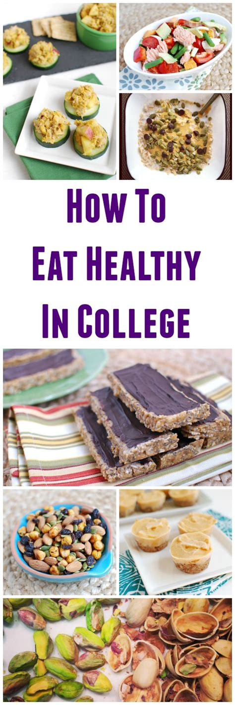 treats for students how to eat healthy in college easy meal ideas