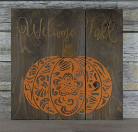 25 best ideas about fall wood signs on pinterest fall - Wooden Fall Decor