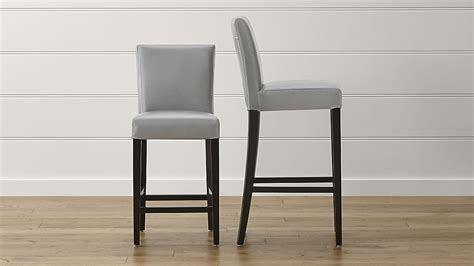 Leather Bar Stool Chairs by Leather Counter Height Stools With Backs Droughtrelief Org