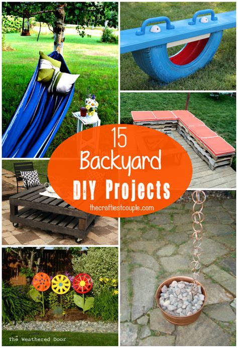 diy projects for couples 15 of the best backyard diy projects the craftiest