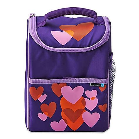 Byo Lunch Set 1 buy lifetime brands byo dual beating hearts lunch bag in purple pink from bed bath beyond