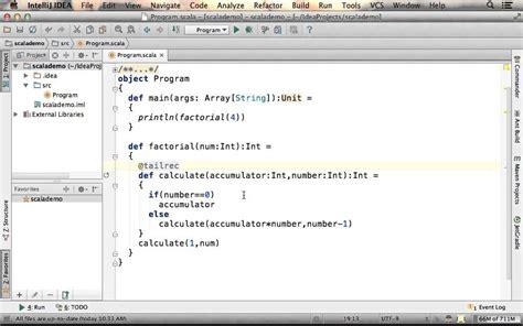 scala pattern matching tail recursion tail recursive function in scala youtube