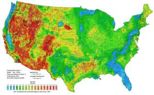 topographical map of united states us topographical map