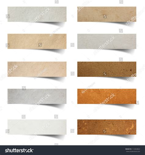 paper stick paper stick on white background stock photo 114364822