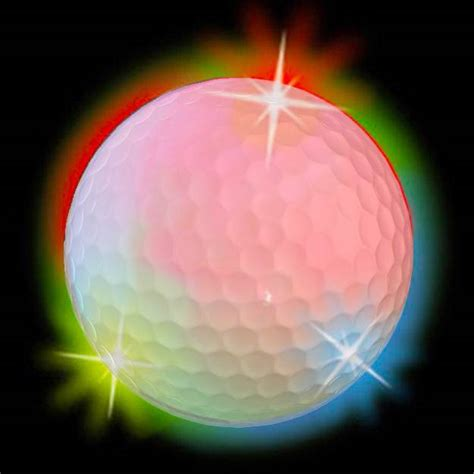 multi colored strobe light multi colored light up strobe led electronic golf balls