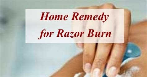 astute homestead home remedy for razor burn