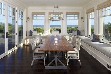 coastal inspired dining table interior design ideas