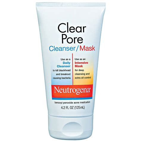 Neutrogena Pore neutrogena clear pore cleanser mask reviews a