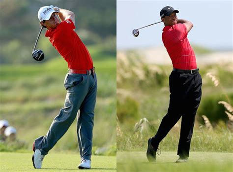 rory mcilroy wedge swing lessons rory mcilroy should learn from tiger woods