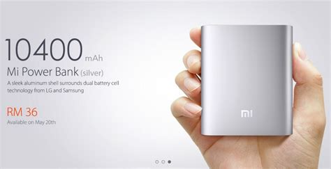 xiaomi mi power bank for a price of rm 36 in malaysia pricepony malaysia tech reviews