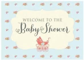 vintage baby shower free printables diy inspired