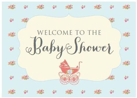 Welcome Baby Shower by Vintage Baby Shower Free Printables Diy Inspired
