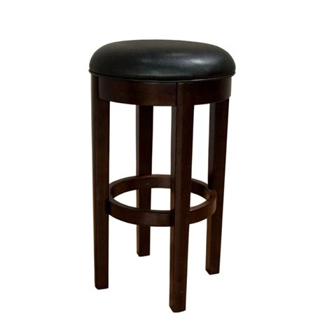 30 leather bar stools a america parson 30 quot swivel faux leather bar stool in