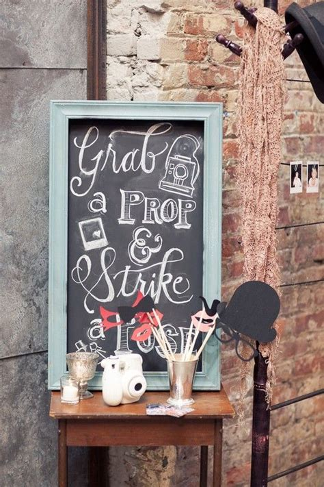 photo booth essentials for your wedding vintage wedding