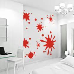 wall paint stickers paint splash on wall images