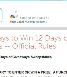 Ellen Degeneres 12 Days Of Giveaways Contest - ellen s 10 day to win 12 days of giveaways sweepstakes sweeps maniac