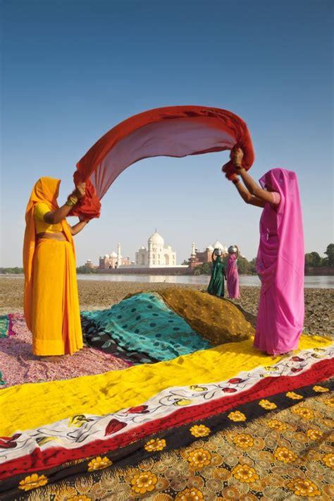 Sari India Ori voyage de noces taj mahal et rajasthan inde du nord