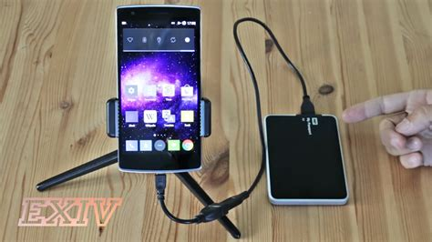 mobile external drive connecting external drives to smartphones