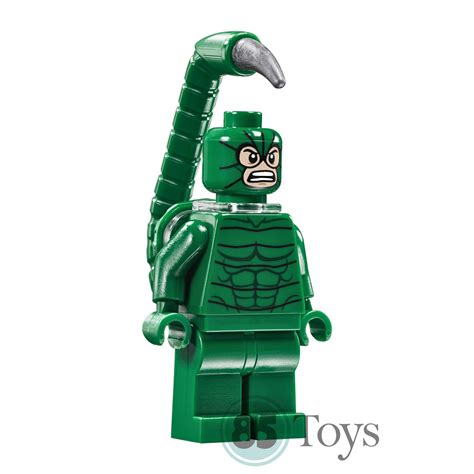 Lego Marvel Heroes Original lego original minifigure scorpion sh269 from set 76057