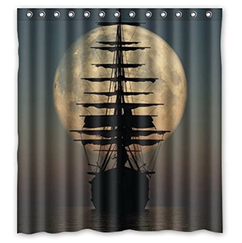 pirate ship bathroom best pirate ship shower curtain for the bathroom