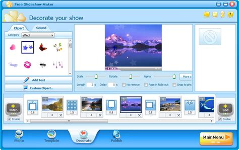 online program maker free slideshow maker download